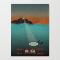 Filligar - Du Nord - San Francisco Canvas Print