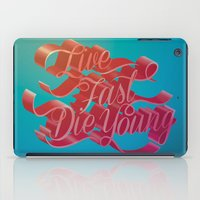Live Fast Die Young iPad Case