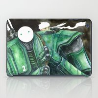 Moonbot #2: Green iPad Case