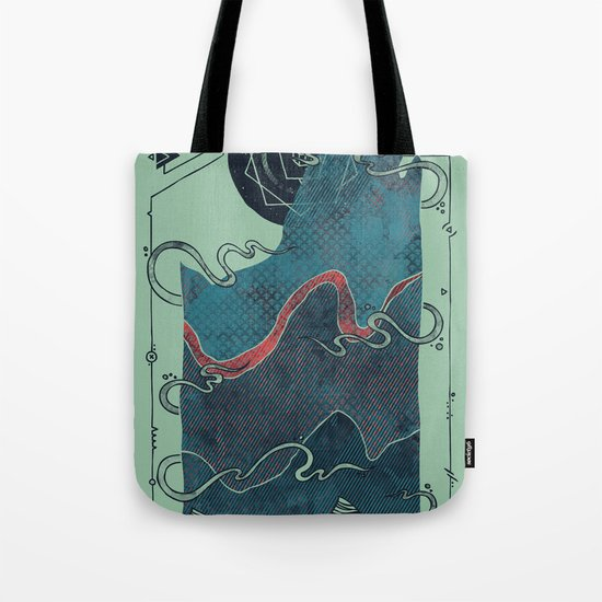 Northern Nightsky Tote Bag
