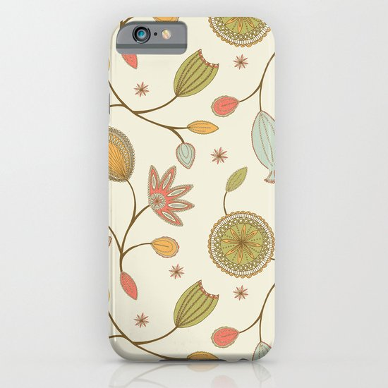 Mehndi Flower iPhone & iPod Case