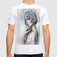 Opal Woman Mens Fitted Tee Ash Grey SMALL
