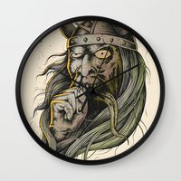 The Viking Wall Clock