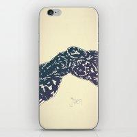 Bonebreathing II iPhone & iPod Skin