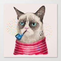Sailor Cat II Canvas Print