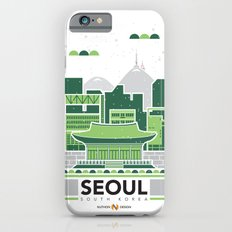 City Illustrations (Seoul, South Korea) iPhone 6 Slim Case