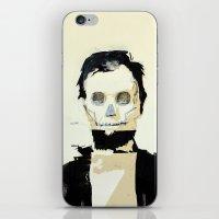 Abraham Lincoln (skull) iPhone & iPod Skin