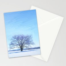 Shades of Winter Stationery Cards