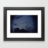 Highline Moon Framed Art Print