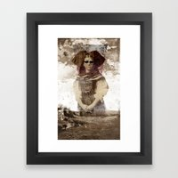 She Was The Light Of The… Framed Art Print