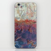 entropic floral dreams iPhone & iPod Skin
