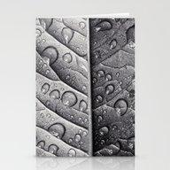Silver Leaf Stationery Cards