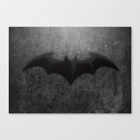 Its too Dark Canvas Print