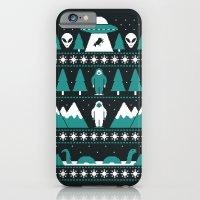 Paranormal Xmas iPhone 6 Slim Case