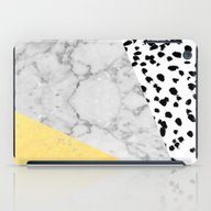 Marble Gold Dots - Moder… iPad Case