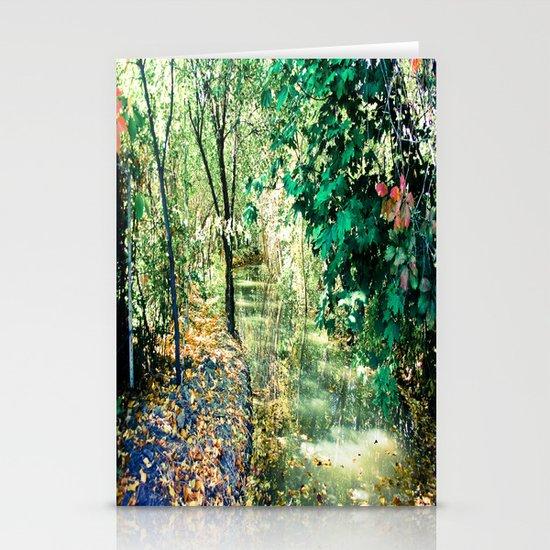 Hidden Autumn Creek Stationery Card