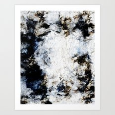 Decay Texture Art Print