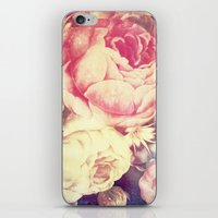Vintage Flowers XXII - for iphone iPhone & iPod Skin