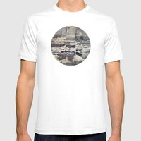 Planetary Bodies - Cement Mens Fitted Tee White SMALL