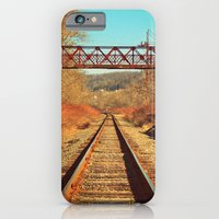 iPhone & iPod Case featuring On The Right Track by DeLayne