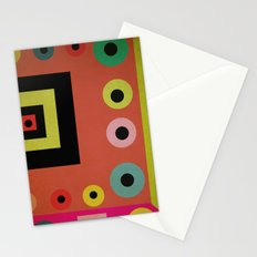 mixed shapes Stationery Cards
