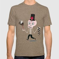 The Halloween Series - The Voodoo That You Do Mens Fitted Tee Tri-Coffee SMALL