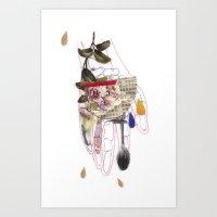 Gurdulù's hand Art Print