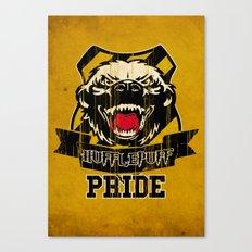 Hufflepuff Pride Canvas Print