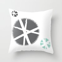 Poufs Throw Pillow
