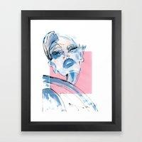 Admiration Framed Art Print