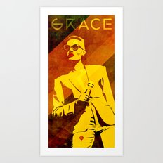 Grace Jones Art Print