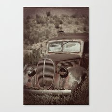 Ford.....abandoned Canvas Print