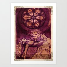 King Lear Shakespeare Folio Art Art Print