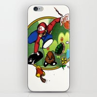 Mario landS iPhone & iPod Skin
