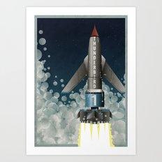 Thunderbird 1 Art Print