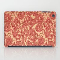 Floral Loop iPad Case