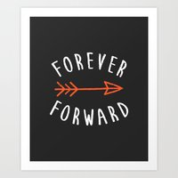 Forever Forward Art Print