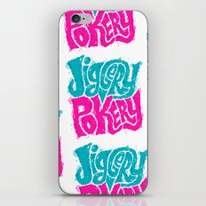 Jiggery-Pokery iPhone & iPod Skin
