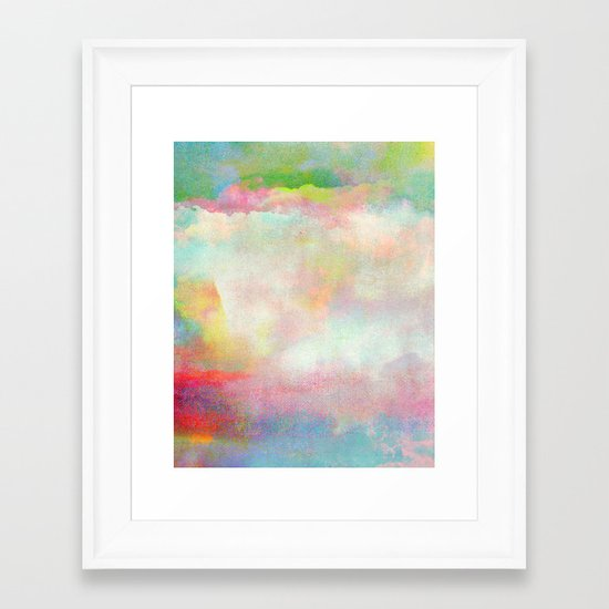 Untitled 20120222n (Cloudscape) Framed Art Print