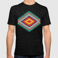 FIESTA Mens Fitted Tee Tri-Black SMALL