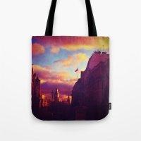 London Sunset Tote Bag