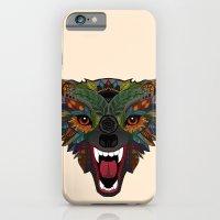 wolf fight flight ecru iPhone 6 Slim Case