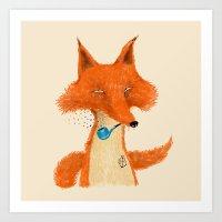 Fox III Art Print