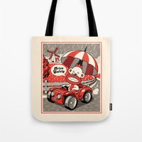 Drive Safely Tote Bag