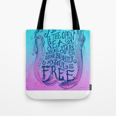 My home is the sea (Dawn Colors) Tote Bag