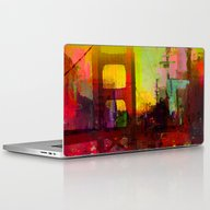 And The Night Comes Laptop & iPad Skin