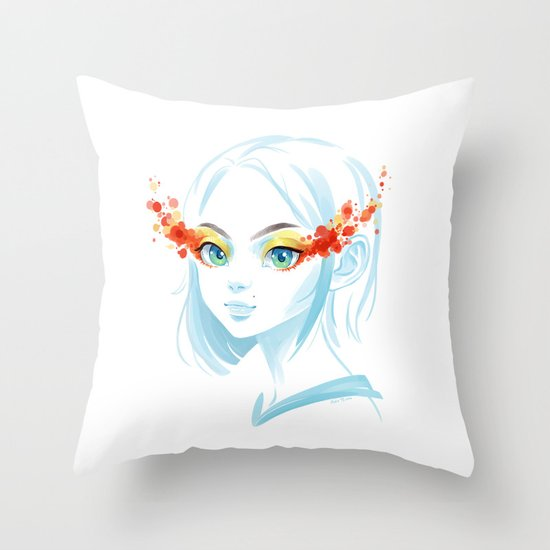 Glance Throw Pillow