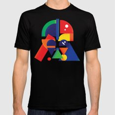 The Shape Side Mens Fitted Tee Black SMALL