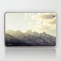 Grand Tetons At Sunset Laptop & iPad Skin