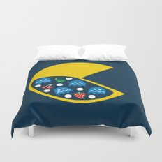 8-Bit Breakfast Duvet Cover